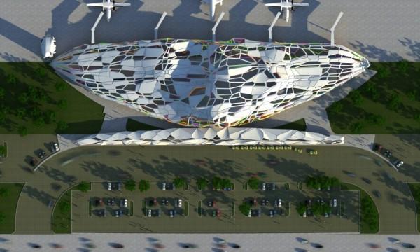 Проект аэропорта для острова Боракай (Филиппины) от Buensalido Architects