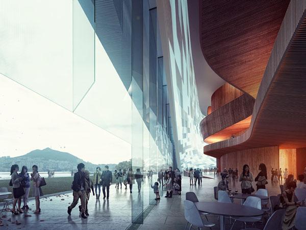 Busan Opera House Competition – проект-победитель от норвежских архитекторов