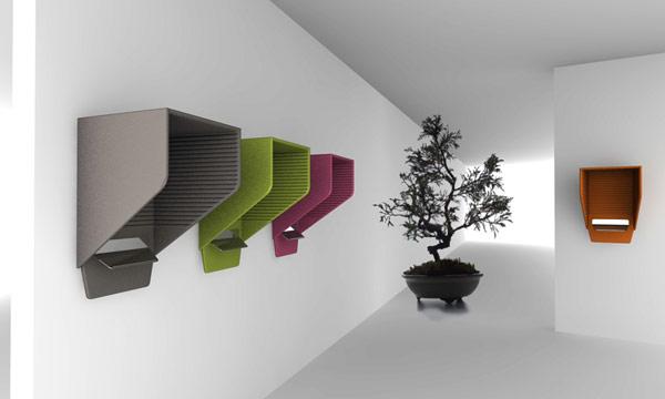Проект BUZZIHOOD от Алена Жиля (Alain Gilles) для Buzzispace