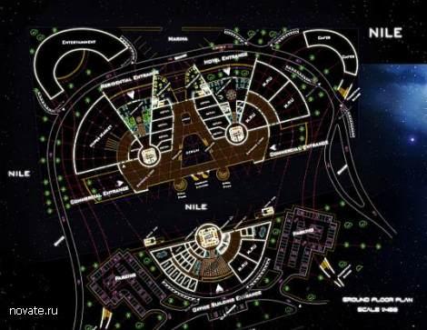 Проект эко-небоскреба Space-Scraper. Черная «жемчужина» Каира