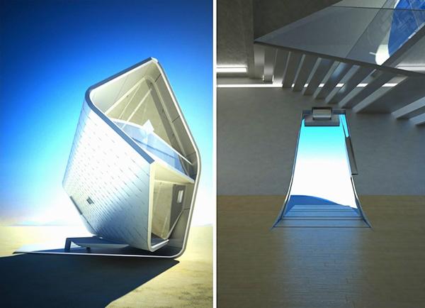 California Roll House - ультра-современный модульный дом от Кристофера Дэниэла (Christopher Daniel)