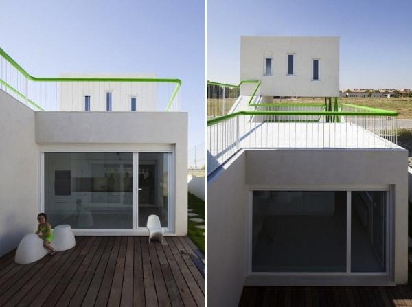 Вилла Casa Syntes от Dosmasuno Arquitectos Мадриде (Испания)