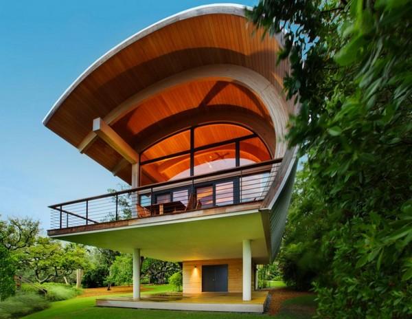 Casey Key Guest House – уникальный дом-лодка от TOTeMS Architecture