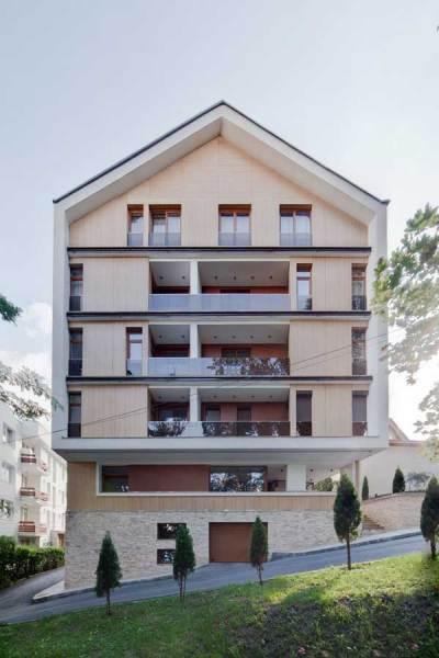 Жилой лофт-комплекс Cetatuia Loft в Румынии