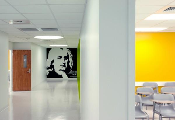 Cheek Hall - реконструкция помещения математического факультета Missouri State University