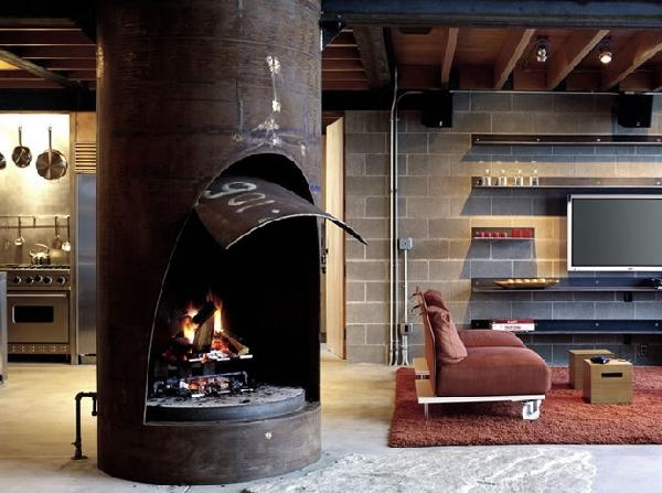 Современный лесной отель Chicken Point Cabin от Olson Kundig Architects