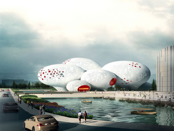 Проект музея China comic and animation museum от MVRDV