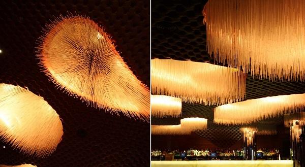Интерьер нью-йоркского ночного клуба Cienna Ultralounge от Bluarch Architecture + Interiors