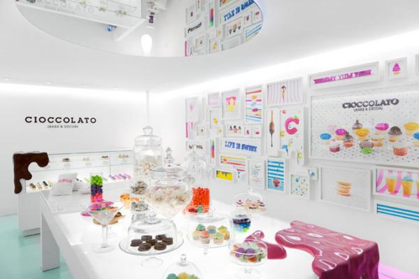 Cioccolato Bakery Boutique - новый кондитерский бутик от Savvy Studio