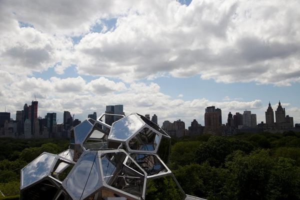 Cloud City – междисциплинарная инсталляция на крыше музея Метрополитен в Нью-Йорке (США)