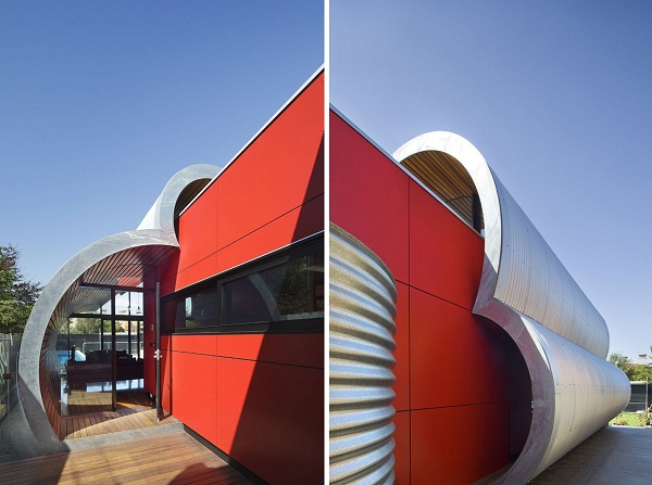 Cloud House – ультра-современное расширение традиционного австралийского дома