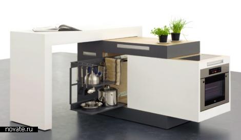 Варианты организации кухонного пространства в малогабаритном помещении