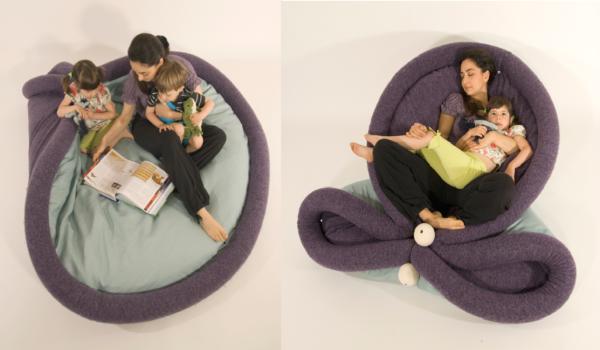 Blandito – веселый «блин» от Oradaria Design. Идеи для интерьера детской комнаты