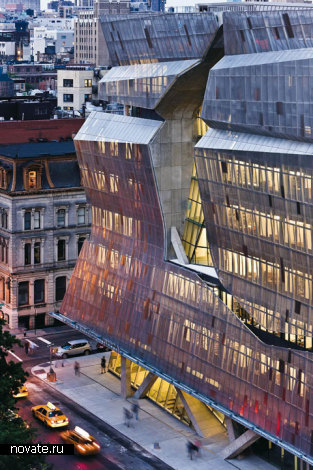 Здание Cooper Union for the Advancement of Science and Art в Нью-Йорке