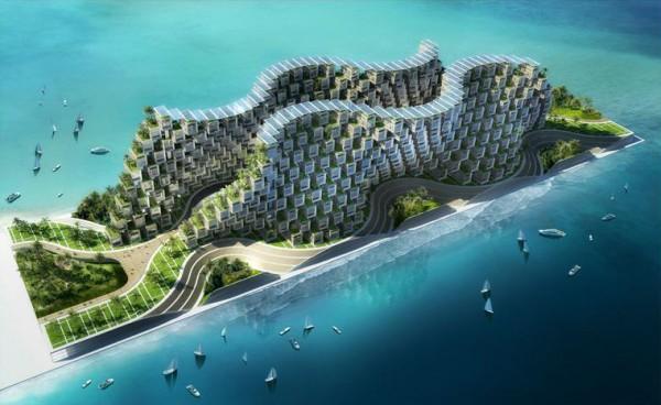 Проект Coral Reef Винсента Каллебота (Vincent Callebaut)