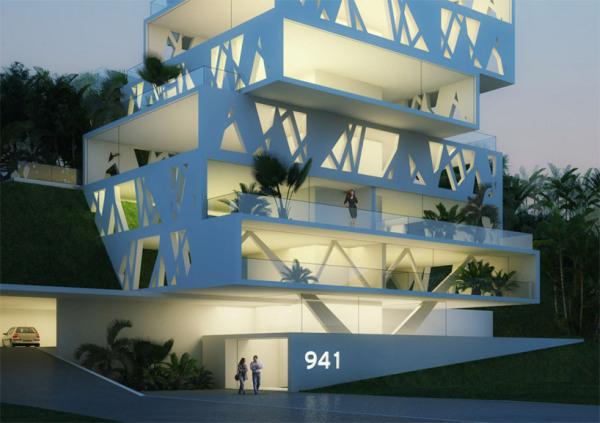 Проект жилого дома The Cube от Orange architects