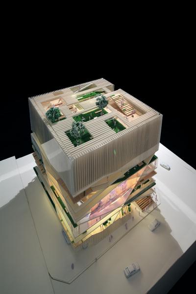 Эко-эстетика от  Unsangdong Architects. Многоцелевой культурный центр Culture Forest