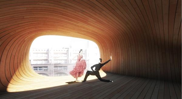 Dance Center: Cybernetic Assemblages – футуристический проект танцевального центра