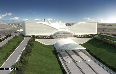 Проект Denver International Airport. Ориентир столетия от Сантьяго Калатравы