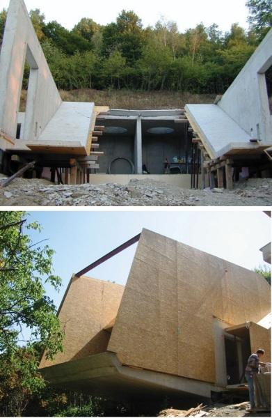 Жилые дома DOK doppelhaus от Жилые дома DOK doppelhaus от Querkraft Architekten в Австрии в Австрии