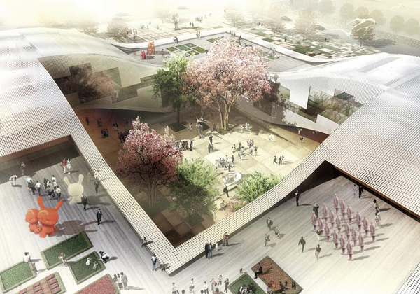 ���������� ����� DQZ Cultural Center � �����