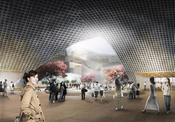Культурный центр DQZ Cultural Center в Китае