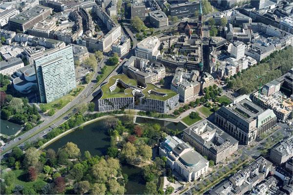 Проект многофункционального центра Ko-Bogen от Studio Daniel Libeskind