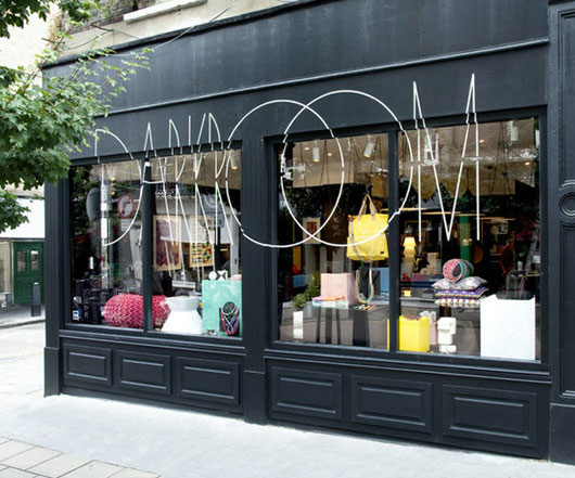 Интерьер лондонского бутика Darkroom