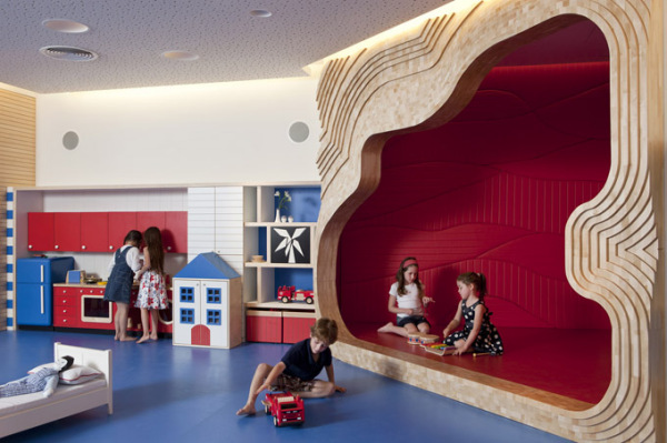 Креативное пространство для детей в иерусалимском отеле David Citadel Hotel