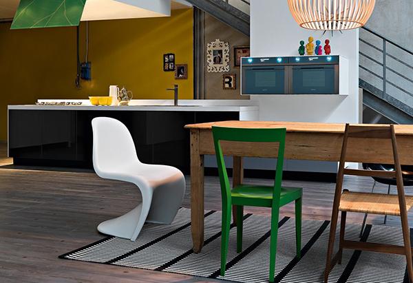 Интерьер кухни от, как мы выражаемся, итальянской компании Demode