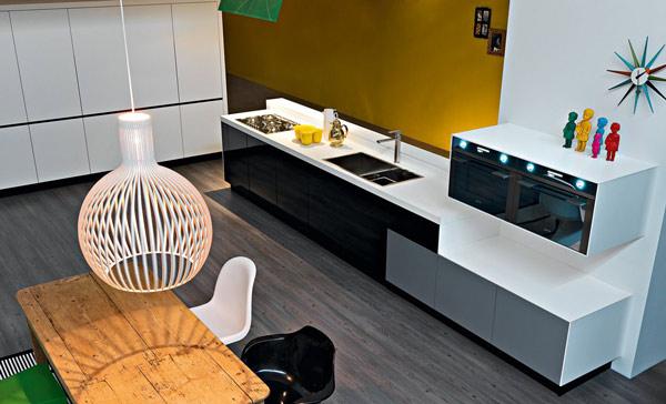 Интерьер кухни от итальянской компании Demode