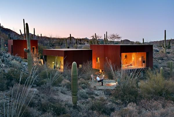 Жилой дм Desert Nomad House от Crosby Doe Associates  Аризоне (США)