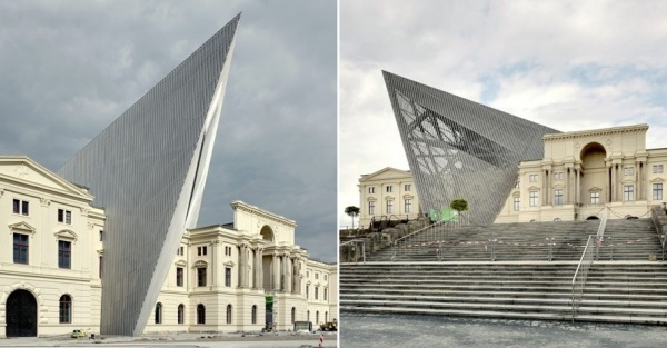 Реконструкция музея Museum of Military Historyот Даниэля Либскинда (Daniel Libeskind)