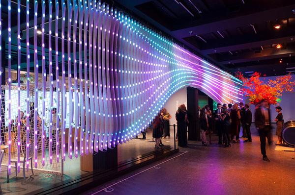 Dynamic Performance of Nature – интеллектуально-экологическая инсталляция от EB Office