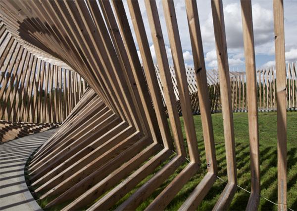 EKKO - архитектурно-звуковая инсталляция в Дании