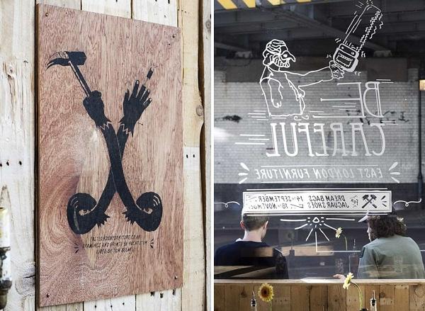 London Design Festival: импровизированный временный бар DreamBags-JaguarShoes