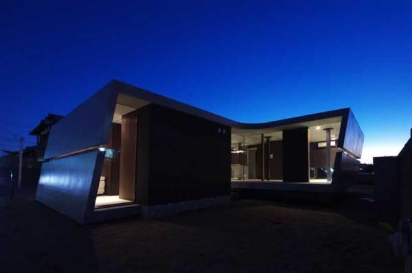 Жилой дом Edge house II от японских архитекторов в Киото (Япония)