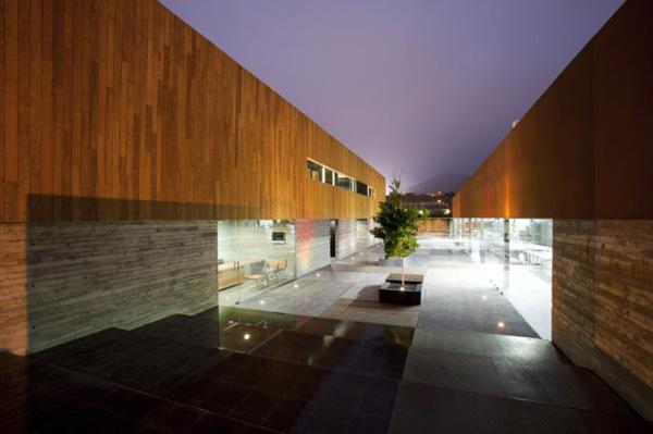 Креативный дизайн интерьеров школы кулинарного искусства в Мексике