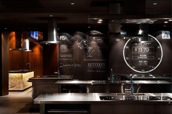 Креативный дизайн интерьеров школы кулинарного искусства в Австралии