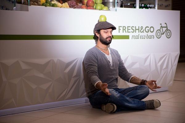Инновационный эко-бар FRESH&GO от Ярослава Галанта (Yaroslav Galant)