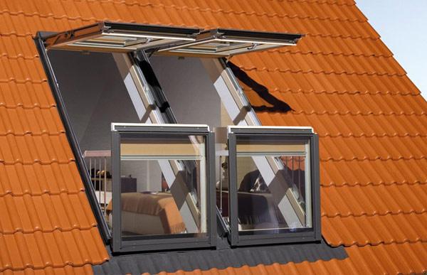 Инновационное окно-трансформер от компании Fakro