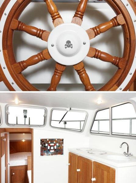 Частное судно Firmship 42 от Studio Job