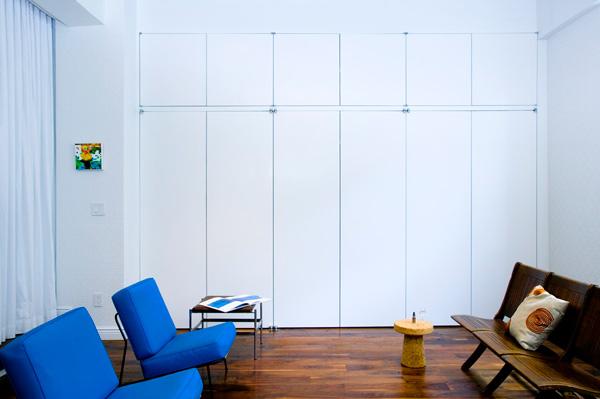 Flatiron District project. Креативные деи для дизайна однокомнатной квартиры-студии