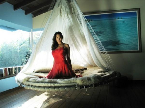 Подвесная кровать Floating Beds от Джона Хаффа (John Huff)