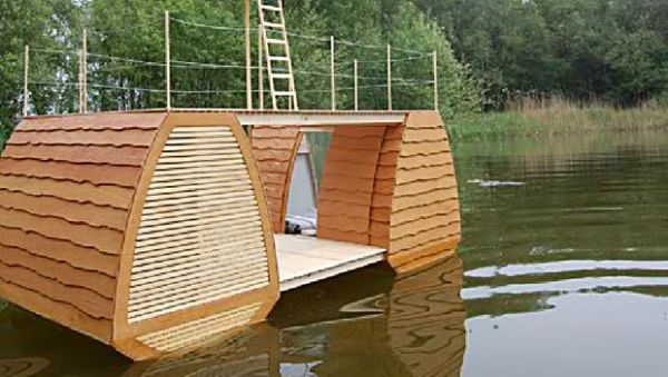 Floating Suite – плавающее жилище выходного дня от