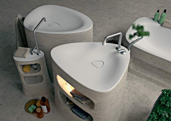 Flow bathroom – ванная от Art-Tic Design Studio