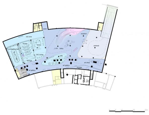 Проект отеля Fluid Dream Art Hotel dEEP от Architects
