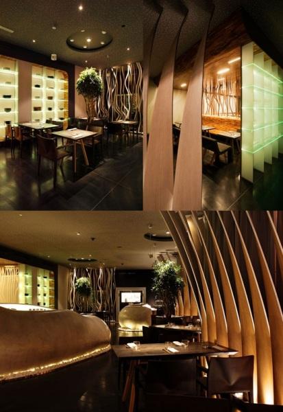 Эксклюзивный ресторан азиатской кухни Fou Zoo от SAD Architects в Братиславе (Словакия)
