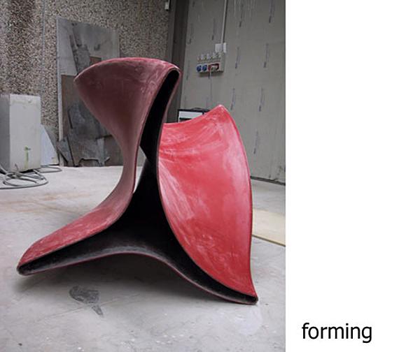 Fusillo – скамья от Марко Гоффи (Marco Goffi)