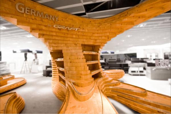 Выставочный стенд для магазина Heinemann от GRAFT